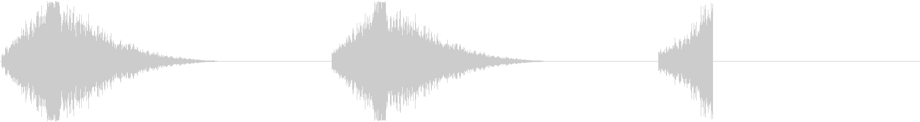 フラッシュバックエントリ+コンポー...の未再生の波形