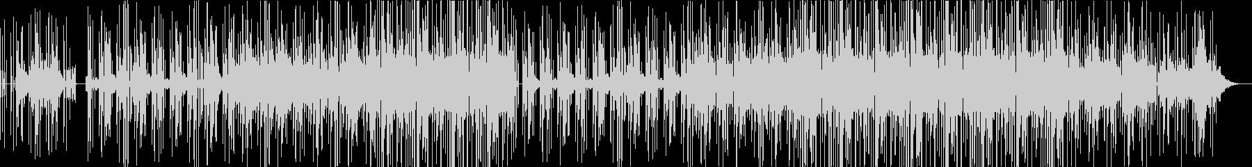 HIPHOPトラック洋楽風の未再生の波形