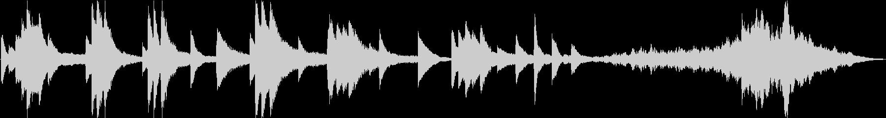 30秒+15秒エクササイズ用アンビエントの未再生の波形