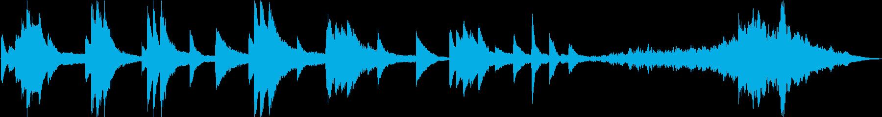30秒+15秒エクササイズ用アンビエントの再生済みの波形