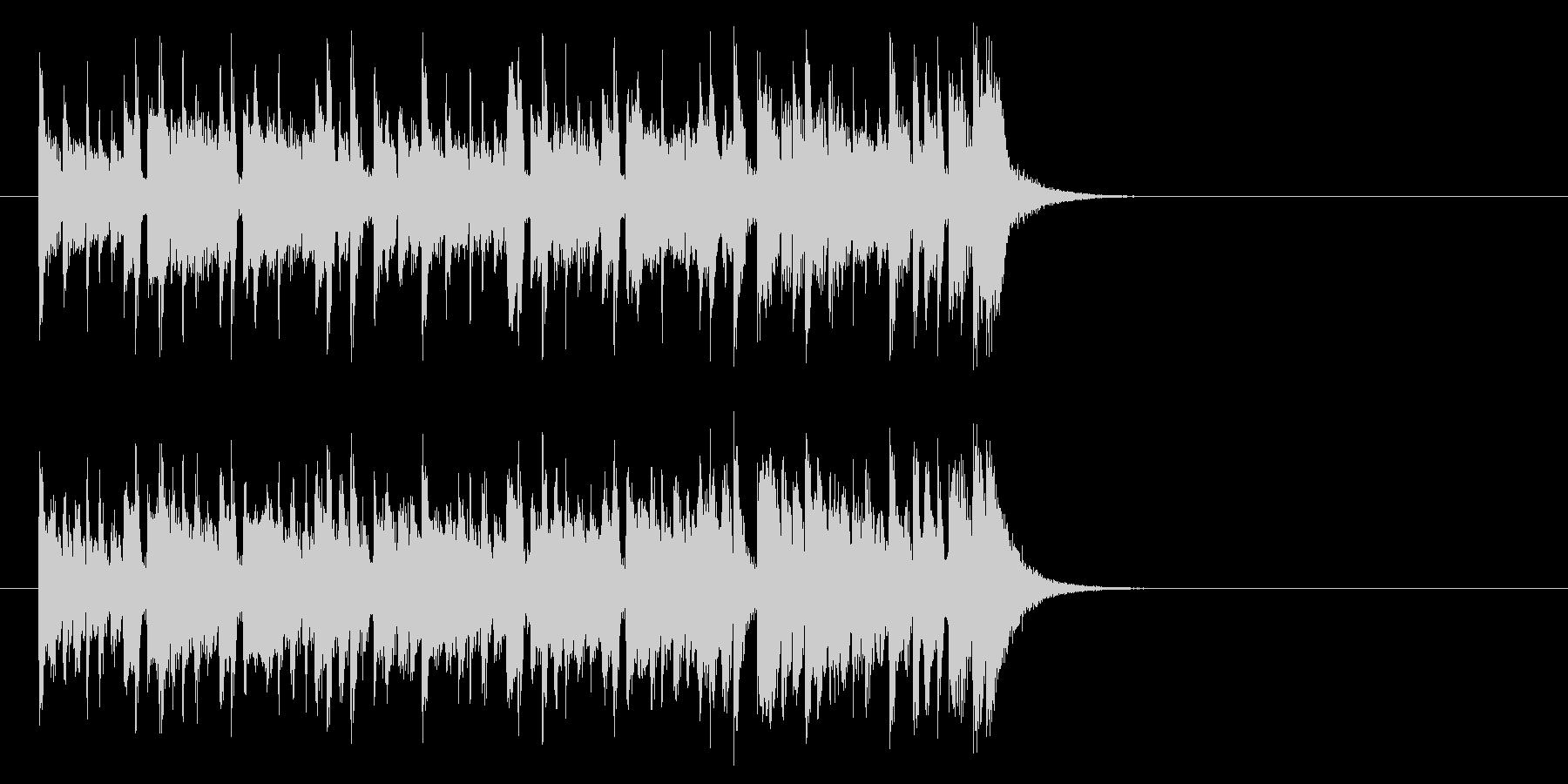 健やかなほのぼのポップ(イントロ)の未再生の波形