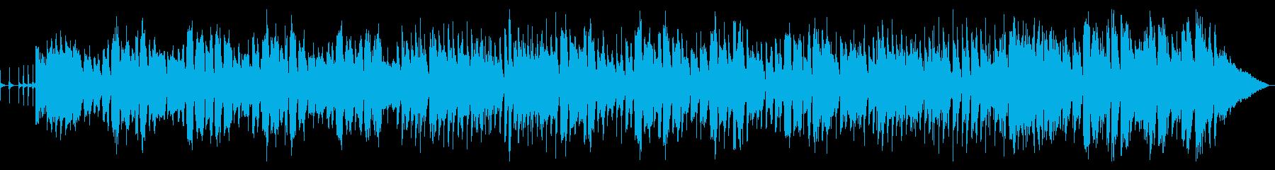 ウキウキする口笛が印象的な作品の再生済みの波形