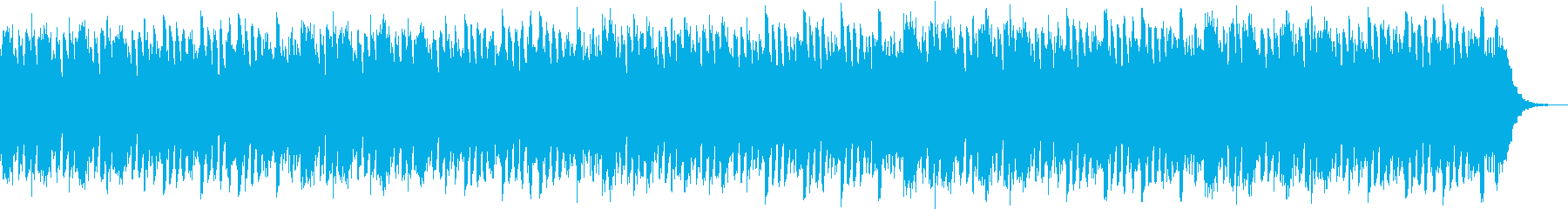 幻想的で浮遊感のある曲の再生済みの波形