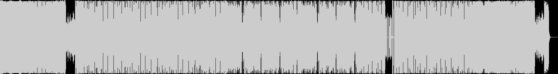 生演奏・ハイテンポの現代的なメタルの未再生の波形