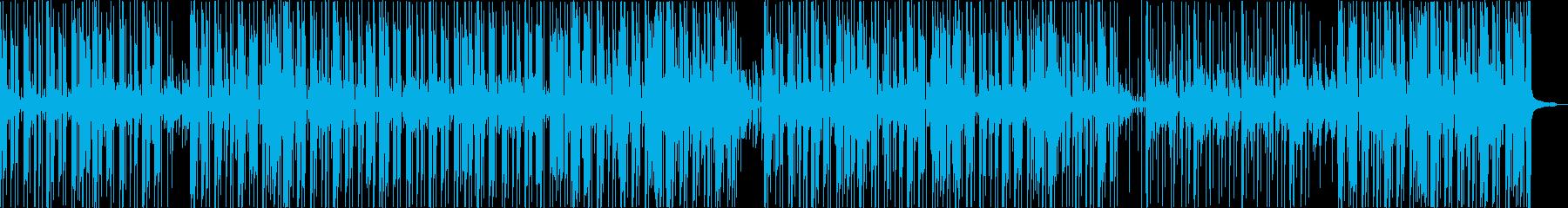 アダルトなグルーヴのアシッドジャズの再生済みの波形