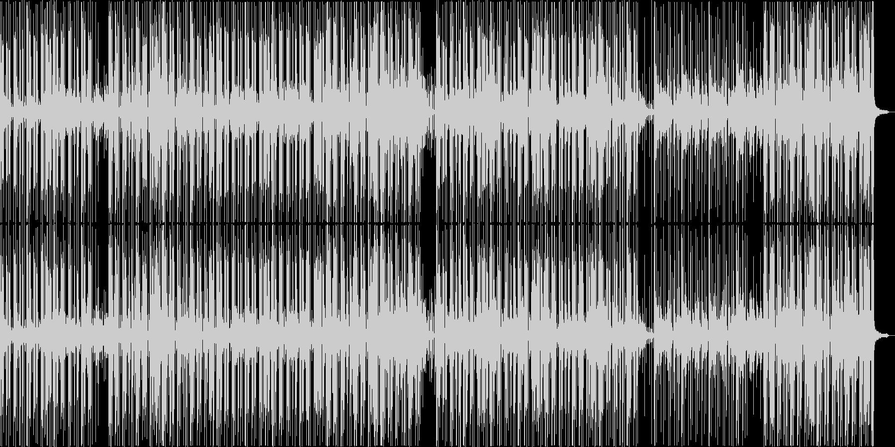 アダルトなグルーヴのアシッドジャズの未再生の波形