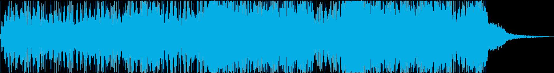 60 秒尺 オシャレなEDMのOPテーマの再生済みの波形