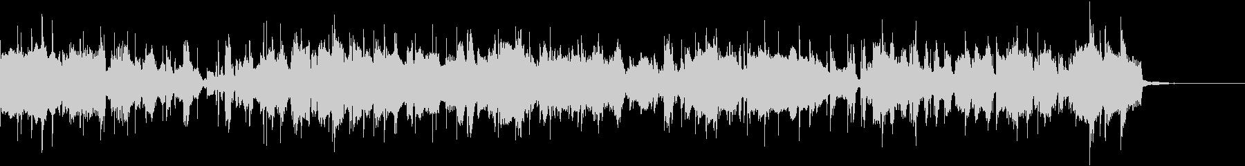 ソプラノサックスの軽快なフュージョンの未再生の波形
