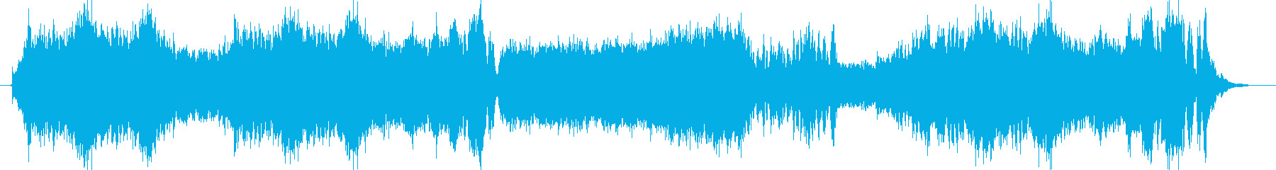 Ornate orchestra, fanfare's reproduced waveform