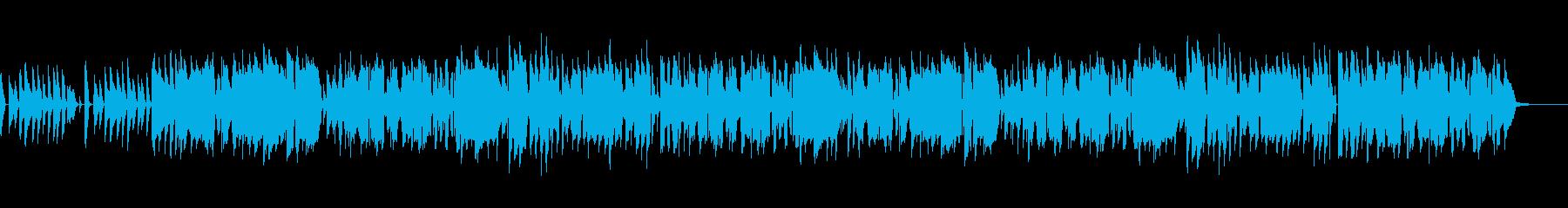 生演奏ウクレレ気まぐれでのんきな感じの曲の再生済みの波形