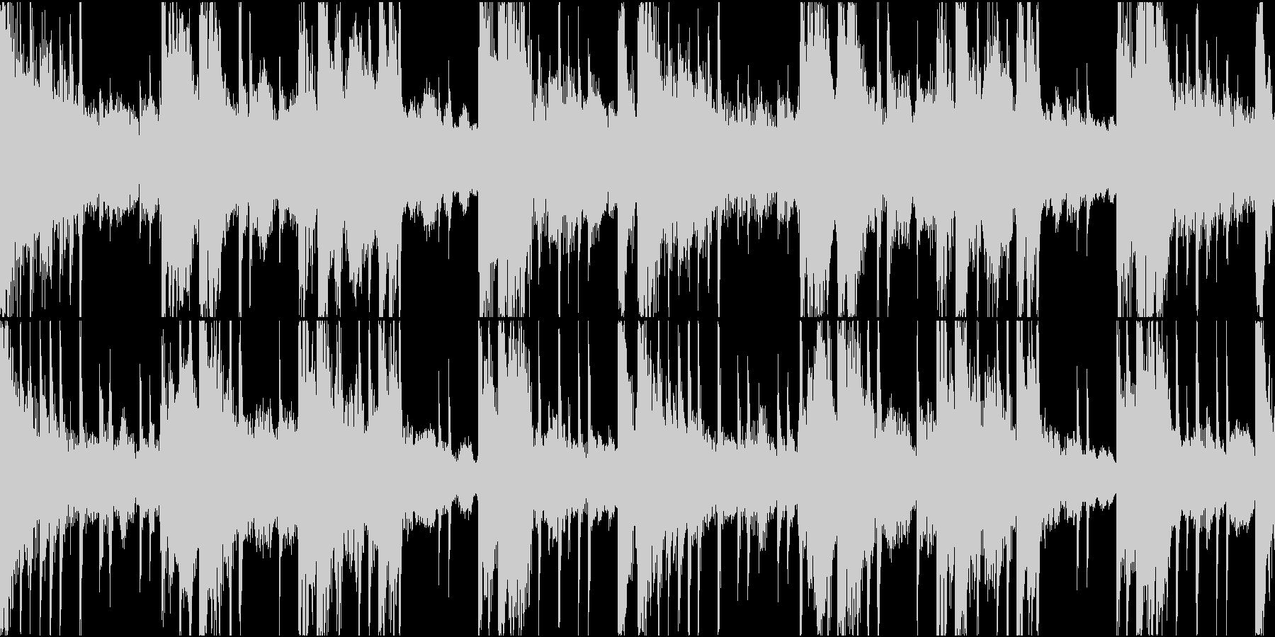 BGM06 琴 15秒ループの未再生の波形