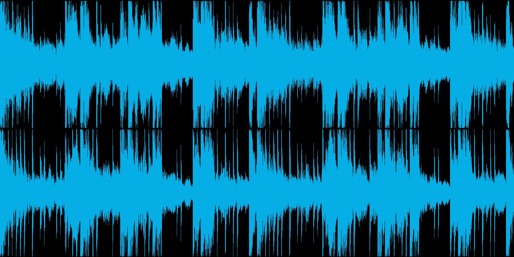 BGM06 琴 15秒ループの再生済みの波形