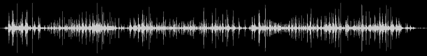ネバネバ、ヌメヌメとした不気味な音C#5の未再生の波形