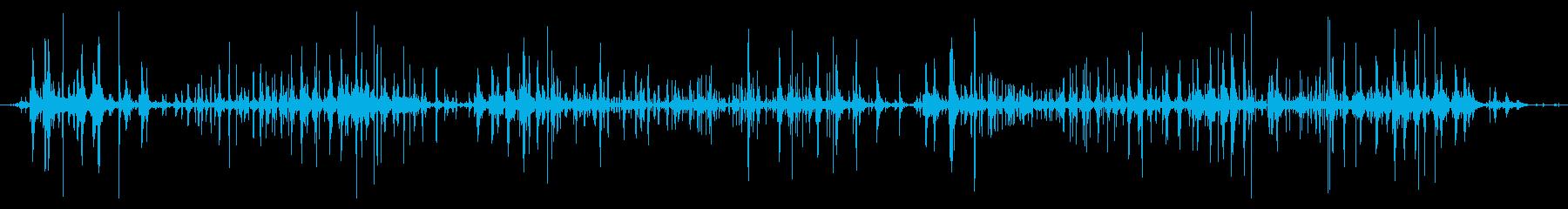 ネバネバ、ヌメヌメとした不気味な音C#5の再生済みの波形