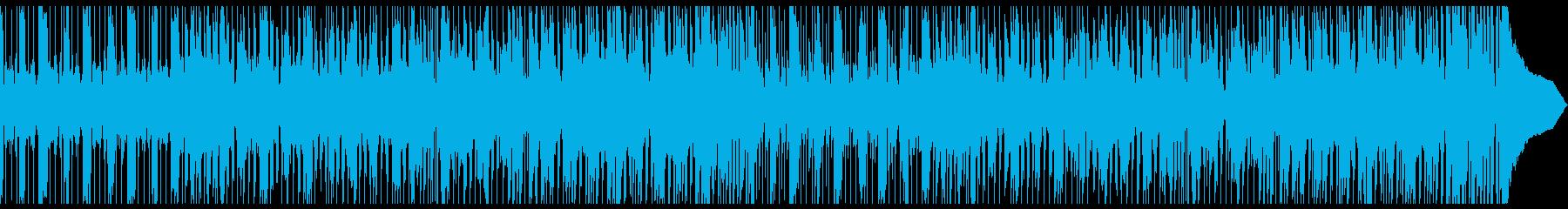 悪カッコ良いギターロックの再生済みの波形