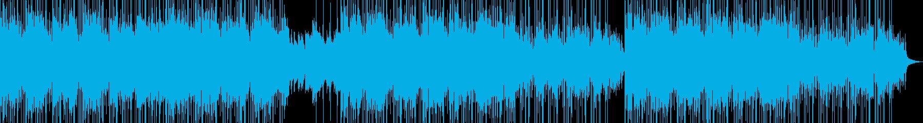 リラックスしたポジティブなソフトポップの再生済みの波形