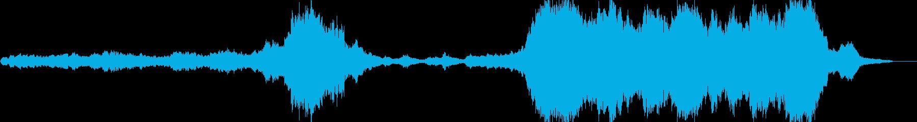 感動的で壮大なクラシック曲の再生済みの波形