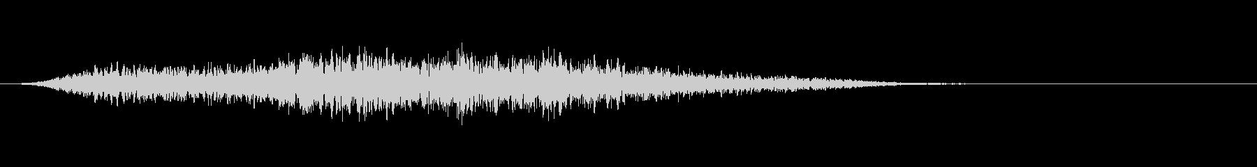 SFの音楽アクセントの未再生の波形