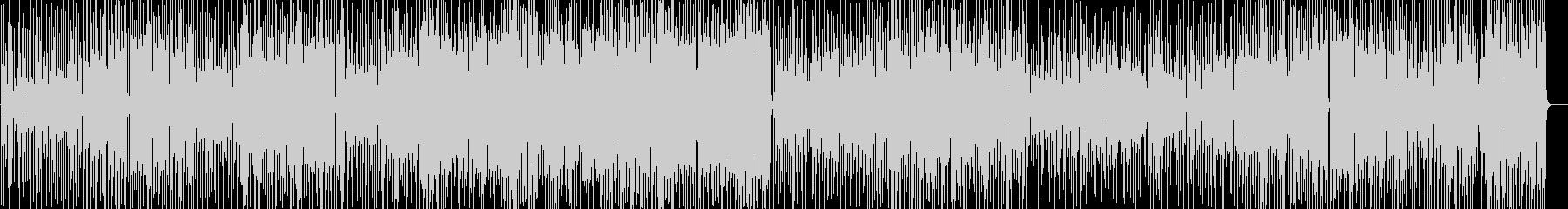 ご機嫌なサックスインスト音楽の未再生の波形