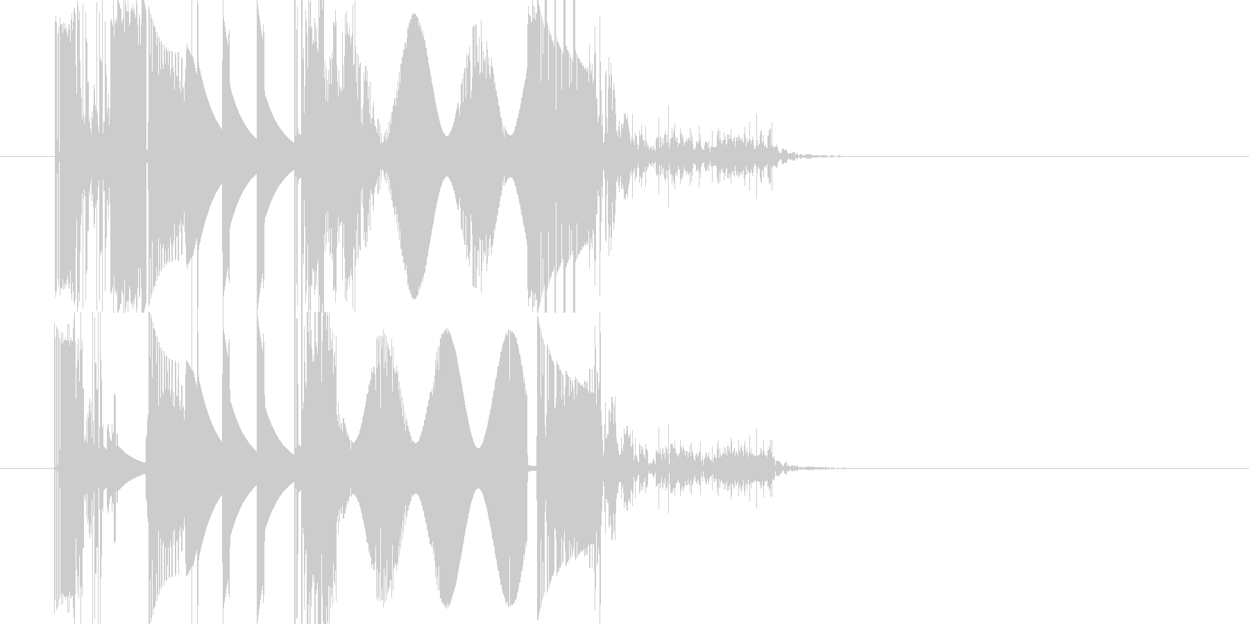 オーバードライバーバージョン3の未再生の波形