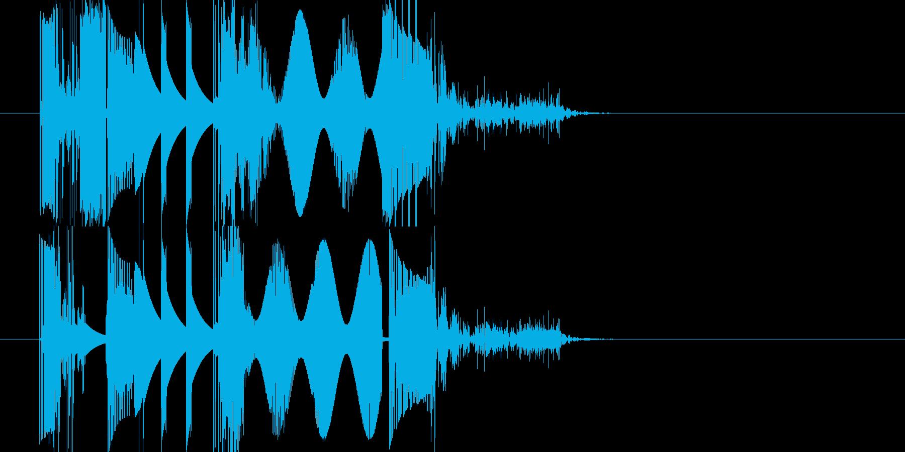 オーバードライバーバージョン3の再生済みの波形