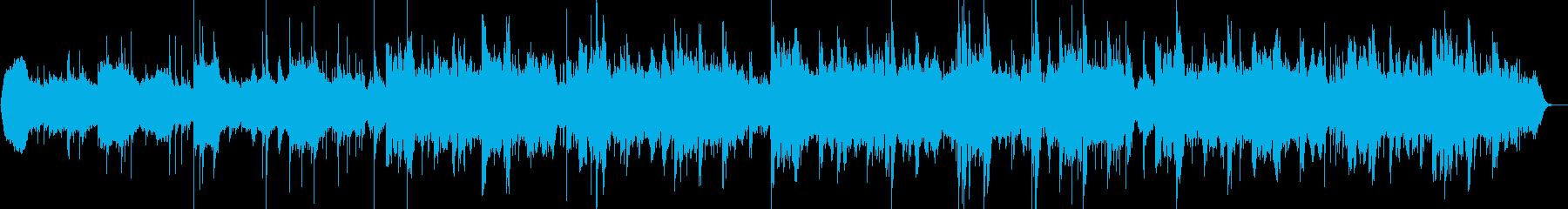 ジングル - 幻想的な和EDMの再生済みの波形