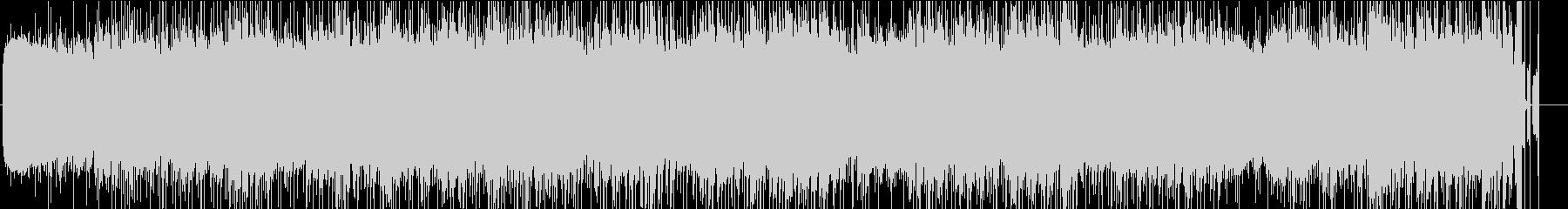 ホワイトノイズをメインにした環境BGMの未再生の波形