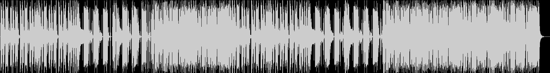 コミカルで怪しげなBGMの未再生の波形
