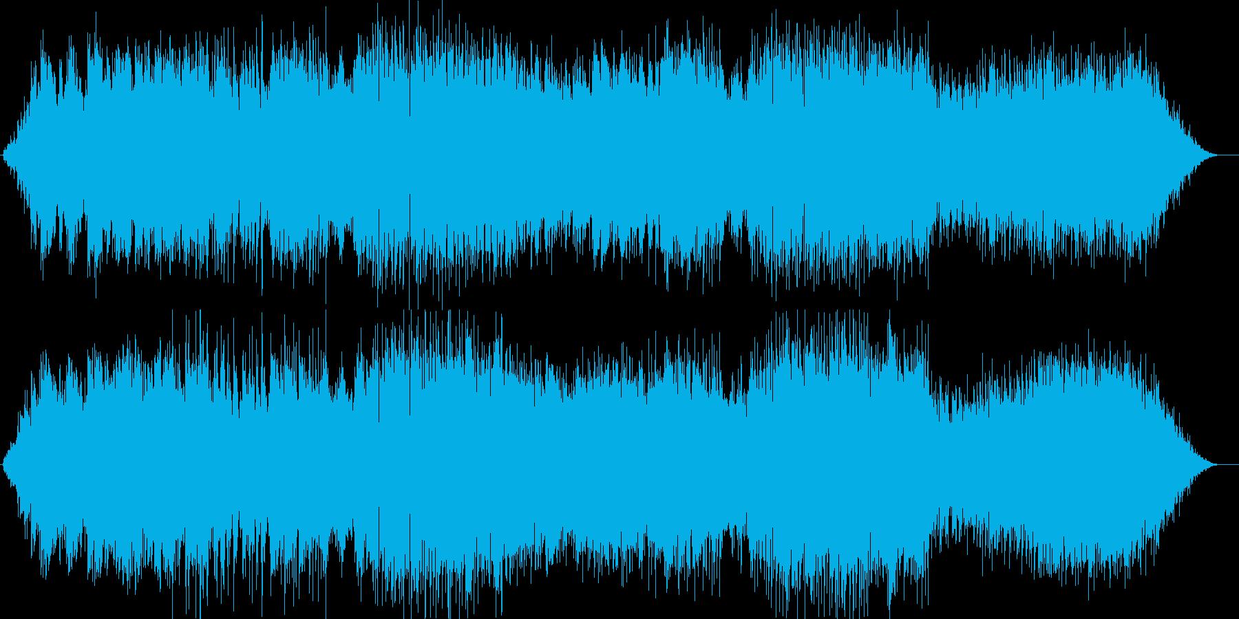 川が流れる様子を表現。流れ、そして循環…の再生済みの波形