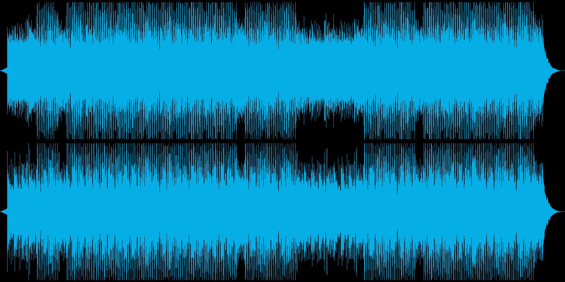 感動、広告、企業音楽の再生済みの波形