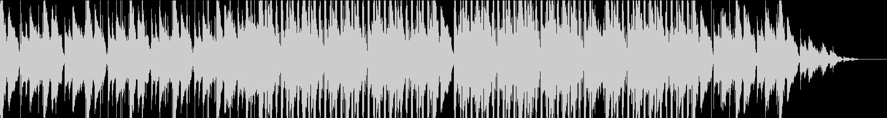 アコギとピアノ 優しいバラードの未再生の波形