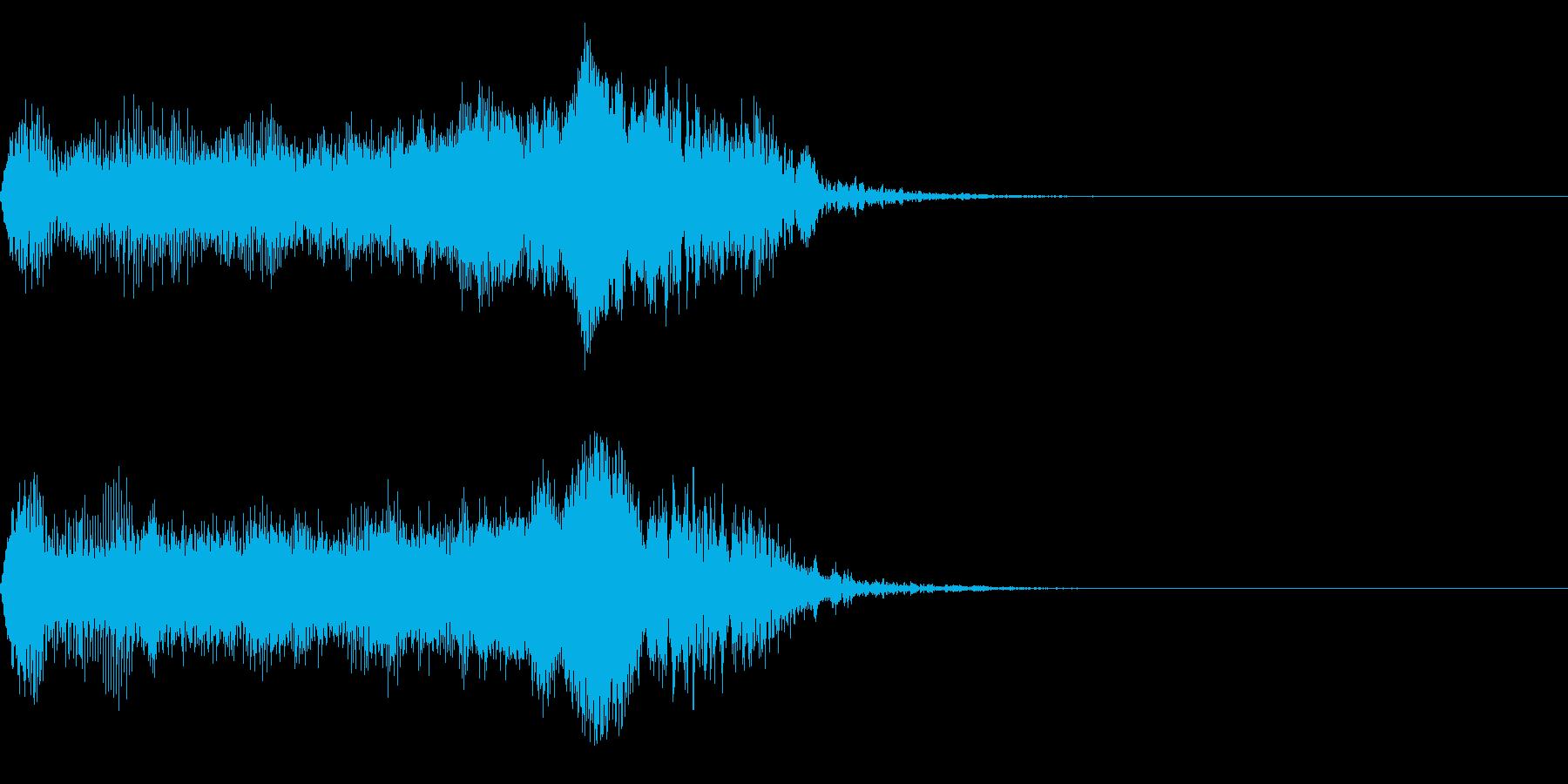 車/エンジン音/アクセル音に最適!01Bの再生済みの波形