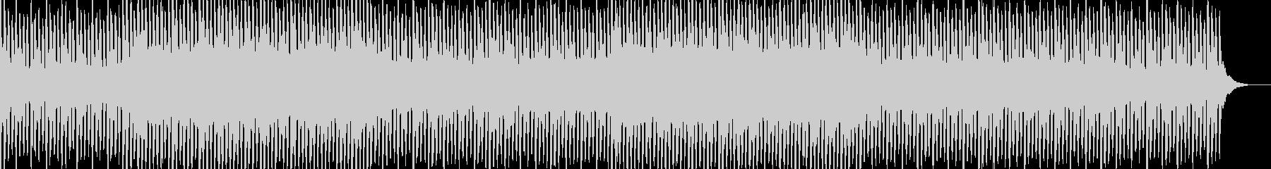 浮遊感のあるおしゃれなコード感 4つ打ちの未再生の波形