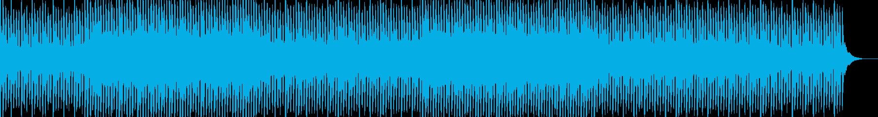 浮遊感のあるおしゃれなコード感 4つ打ちの再生済みの波形