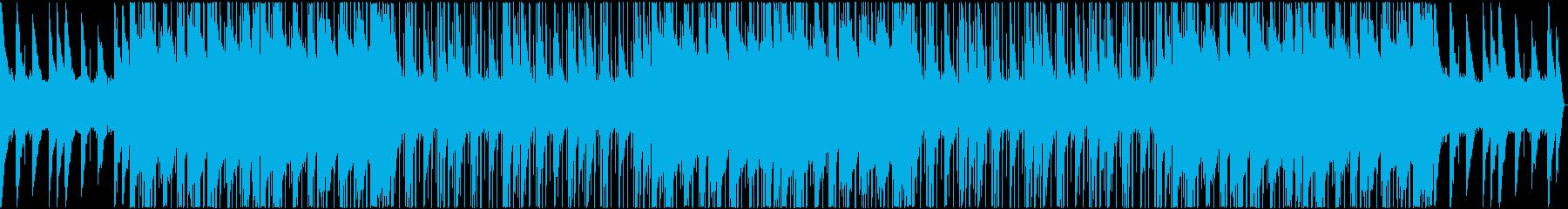 lo-fi 落着いた hip-hopの再生済みの波形
