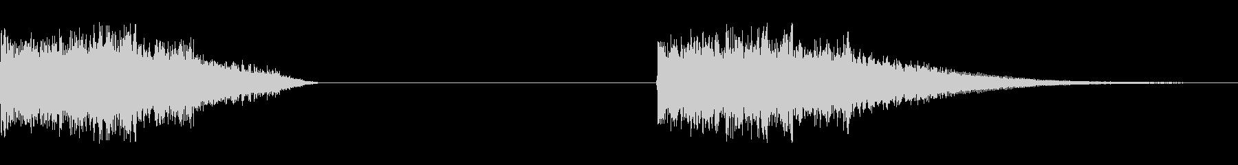 パワーフィル、2バージョン; DI...の未再生の波形