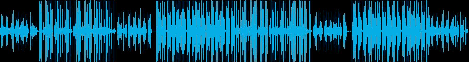 軽快なピアノが印象的な可愛いビートの再生済みの波形