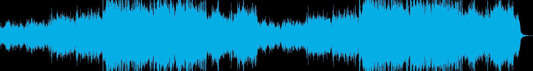 夢と希望の明るい曲(CM・VLOG)の再生済みの波形