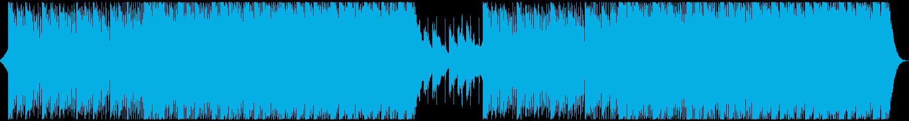 切なくも力強い 応援系EDMの再生済みの波形