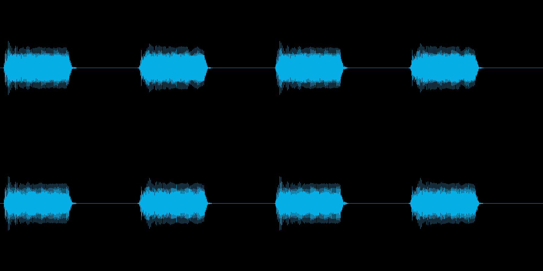 【携帯電話 バイブ01-5L】の再生済みの波形