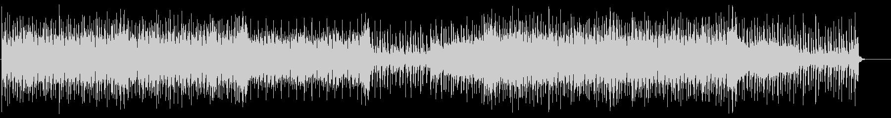 明るいトロピカルEDM 動画BGMの未再生の波形
