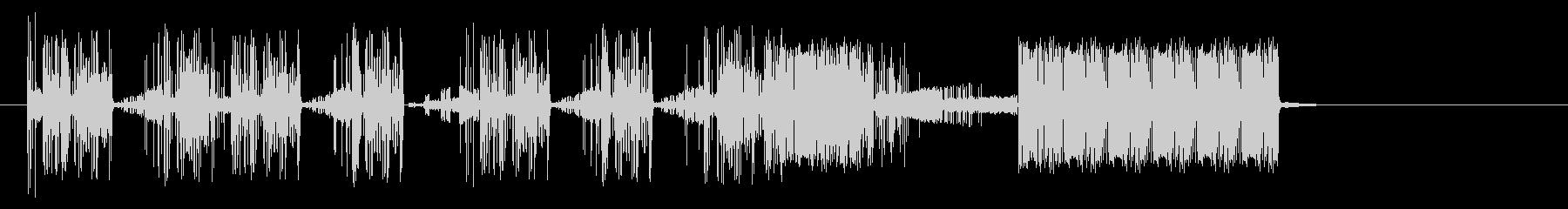 奇数Staticvoxスワイプ1の未再生の波形