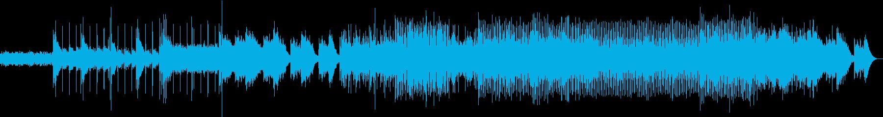 晴れやかな印象のテクノポップの再生済みの波形