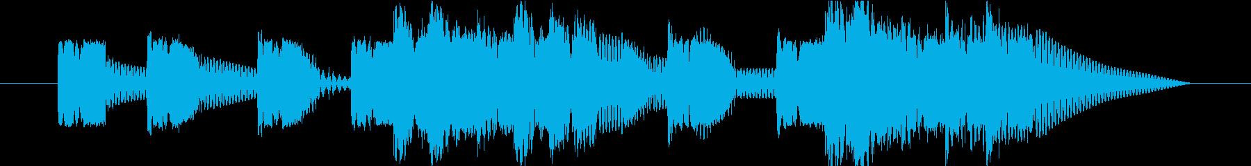 ロボットサウンド 機械音7 の再生済みの波形