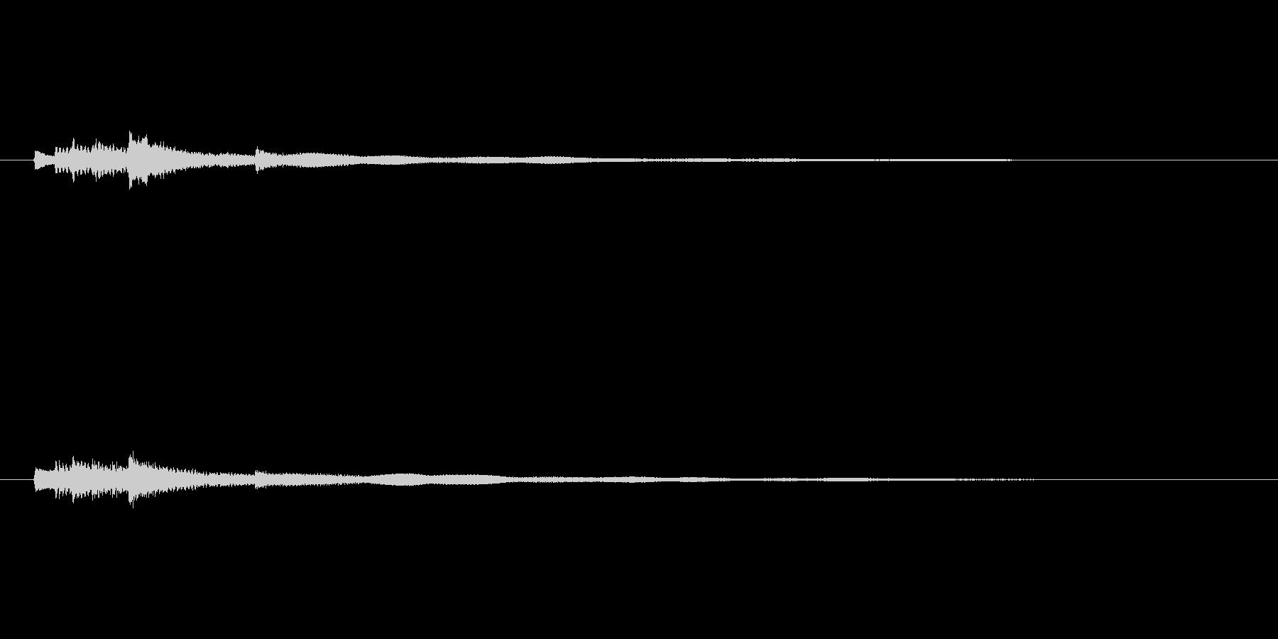 アコースティックギター-アルペジオ...の未再生の波形