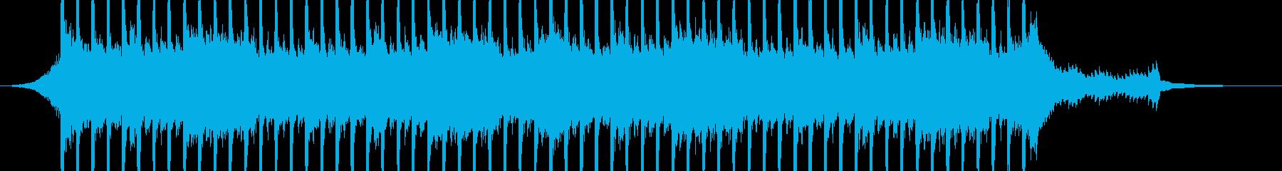 企業VP向け、爽やかポップ4つ打ち10bの再生済みの波形