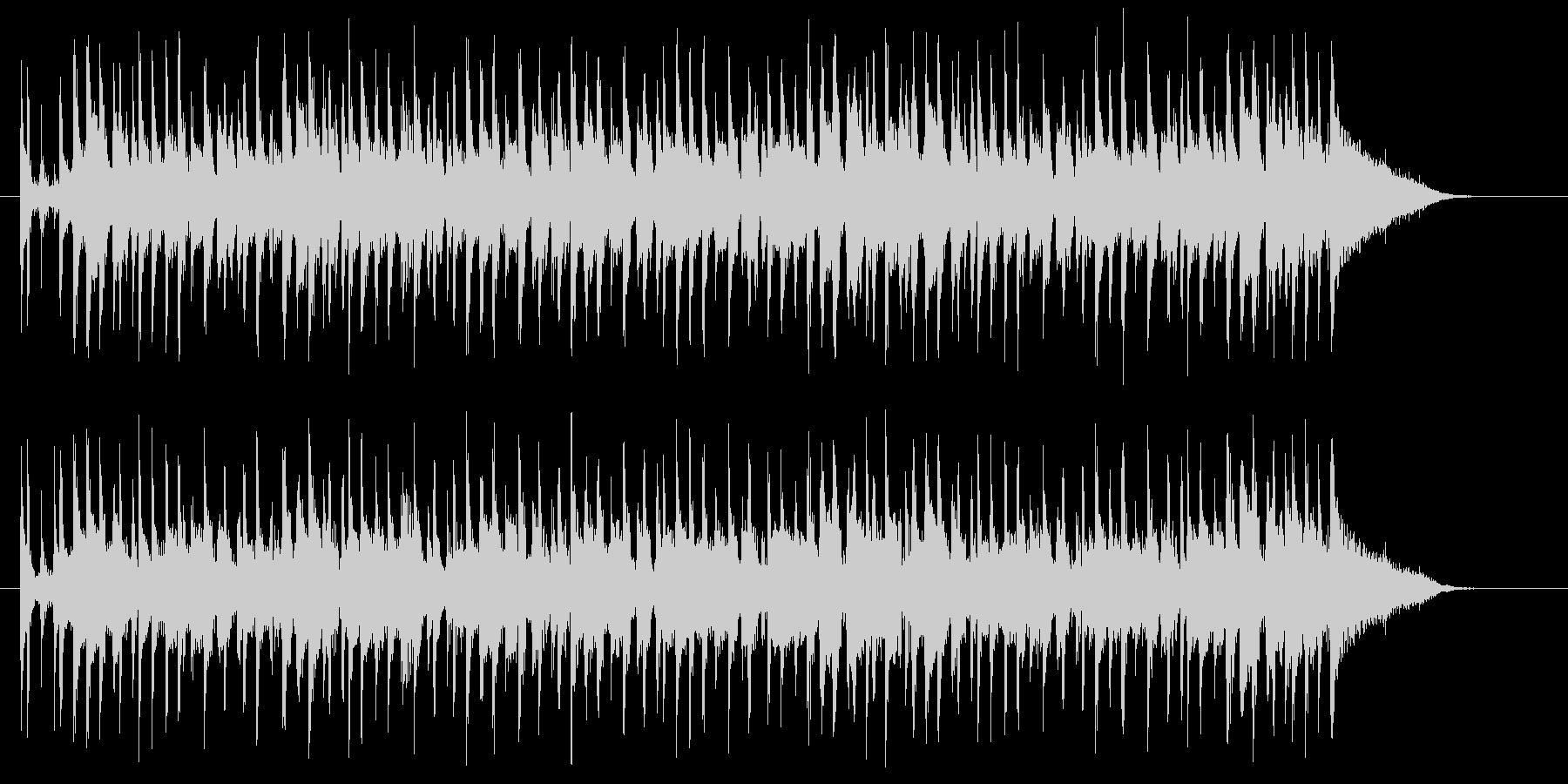 軽快でグルーヴィーなポップスのジングルの未再生の波形
