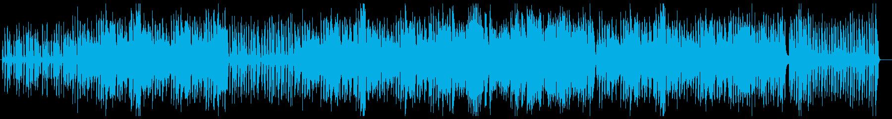 リコーダーが軽快に響くポップスの再生済みの波形