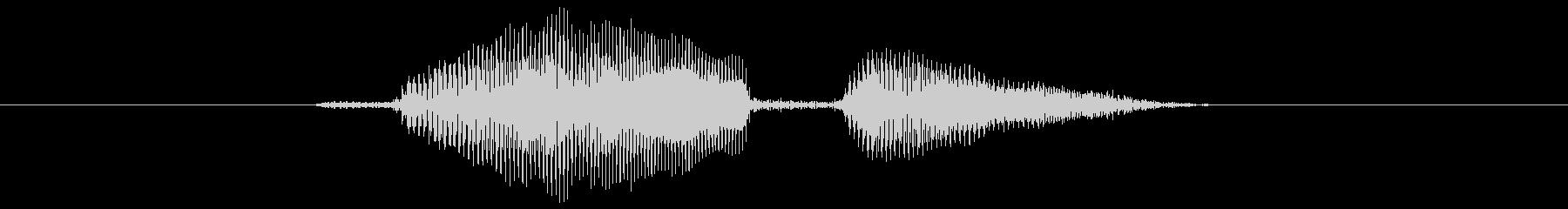 ロードの未再生の波形