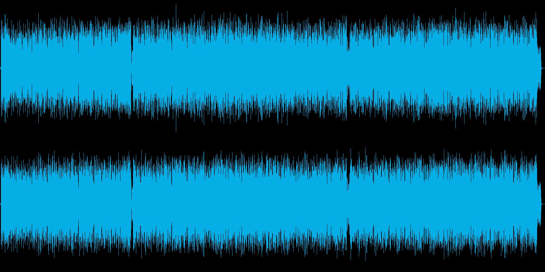 ロック 日本語 男声ボーカルの再生済みの波形